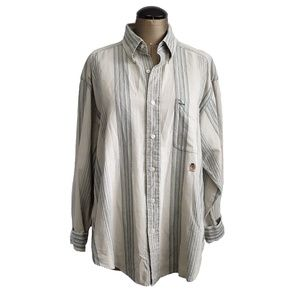 Tommy Hilfiger Striped Button down long sleeved M